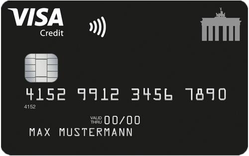 Deutschland-Kreditkarte Antrag