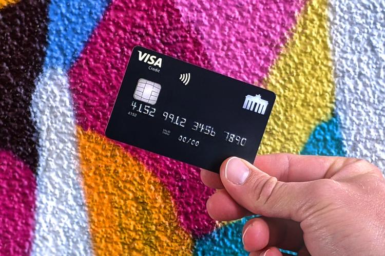 Deutschland-Kreditkarte Classic mit Ratenzahlung