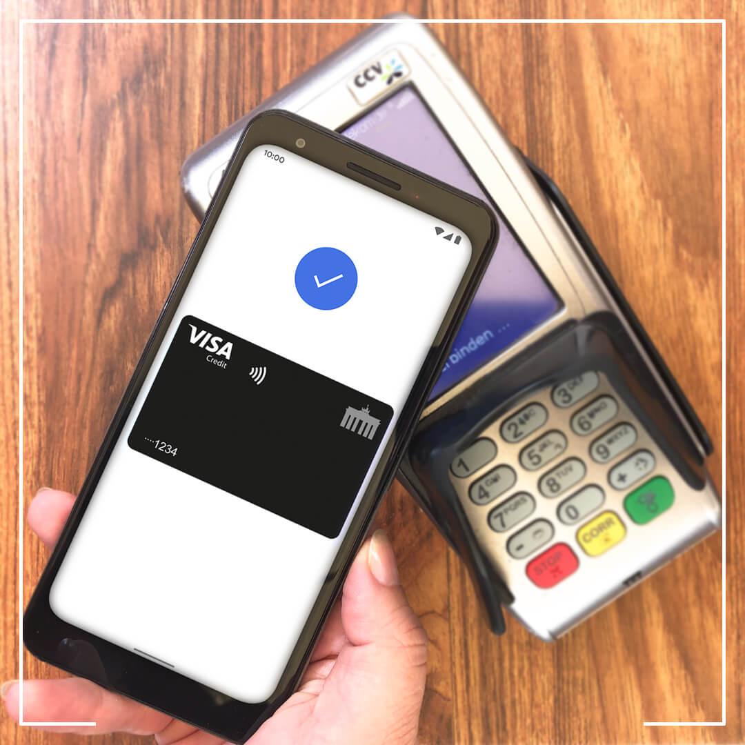 Google Pay mit Deutschland-Kreditkarte