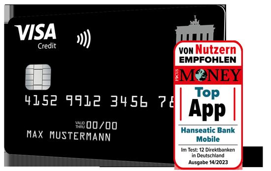 Deutschland-Kreditkarte Classic Visa Card