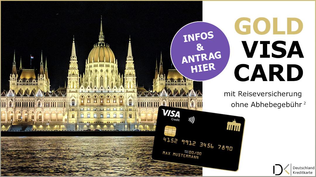 Deutschland-Kreditkarte Visa Gold